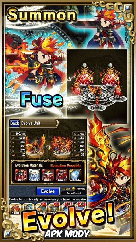 game brave frontier mod apk brave frontier 1 6 0 powerless monsters mod apk download