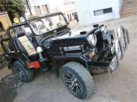 classic jeep modified the gallery for gt mahindra classic modified