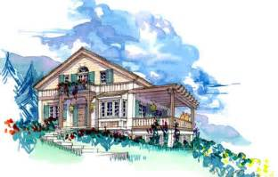 swiss chalet house plans january 2012 house plans