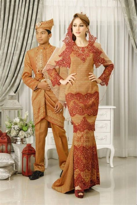Baju Bridesmaid Songket 100 best images about baju pengantin on wedding kebaya and wedding
