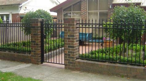 iron fence designs ideas for durable and stylish and give a high class flare to your home home