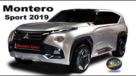 2019 Mitsubishi Montero by Mitsubishi Montero Sport 2019 Exterior Color Concept