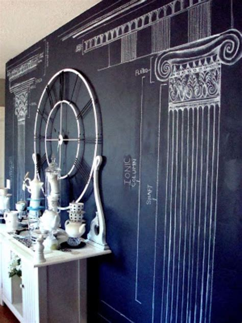 chalkboard paint wall 52 diy chalkboard paint ideas for furniture and decor