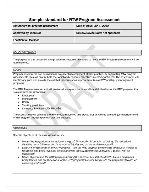 policy memo template word forms fillable printable samples for