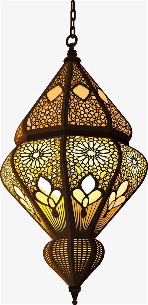 Statement Lighting islam decorative lamp decoration vector islam png and
