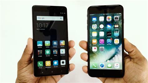 Pupple Iphone 6 7 5 Xiaomi Redmi Note F1s Oppo S6 Vivo xiaomi redmi note 4 vs iphone 7 plus speed test