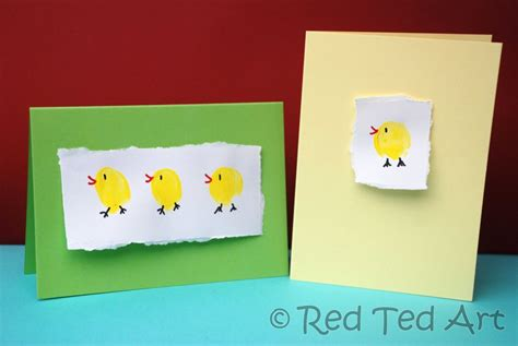 make a easter card craft post easter cards ted s