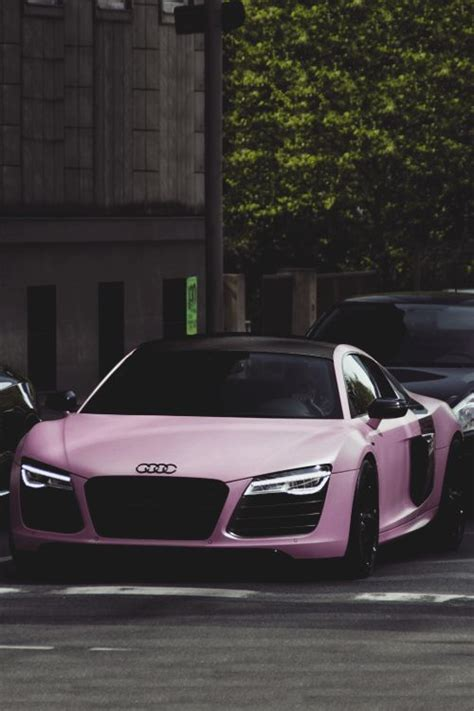 pink audi classyhustler for my lady followers audi r8 v10 plus