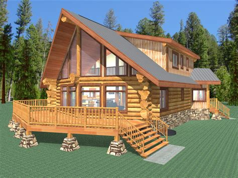 Choice Homes Floor Plans by Palmer 2077 Sq Ft Log Home Kit Log Cabin Kit Mountain