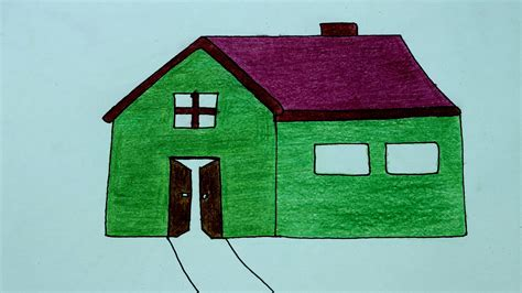 how to make a home how to draw a house home how to make a house drawing