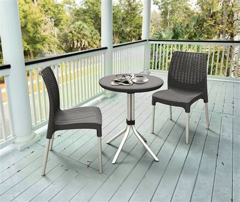 resin table and chairs keter chelsea resin outdoor patio furniture table