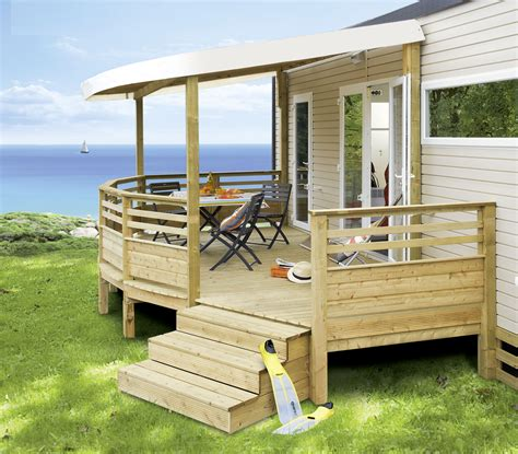 terrasse mobil home occasion terrasse bois occasion pour mobil home