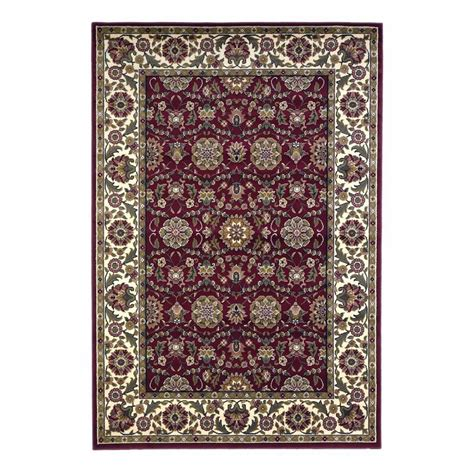 10 x 12 area rugs lowes shop kas rugs kashan rectangular transitional woven area rug common 10 ft x 13 ft actual