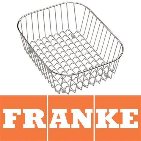 franke stainless steel kitchen sink drainer basket 112