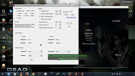resident evil 5 cheats pc trainer download resident evil 5 character swapping tutorial youtube