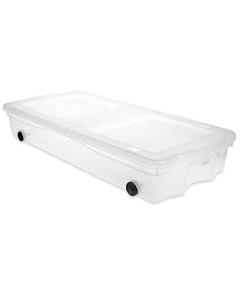 rubbermaid under bed storage rubbermaid plastic rolling storage box underbed set of 4