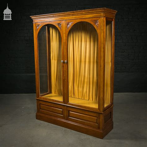 arched cabinet doors mahogany display cabinet with arched glazed doors