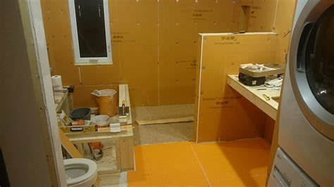 how to waterproof a bathroom before tiling how to waterproof a shower floor before tiling thefloors co