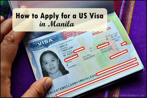how to apply for a us visa in manila solitary wanderer