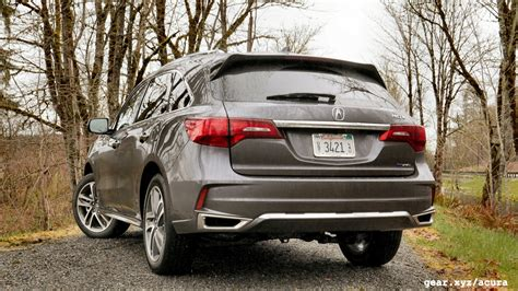2017 acura mdx sport hybrid drive of the