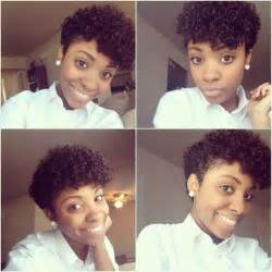 tapper curly haircut styles curly tapered twa natural hairstyles pinterest love