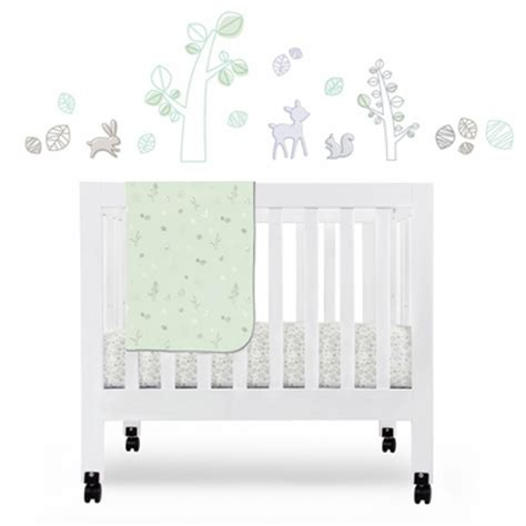 Babyletto Mini Crib Sheets Babyletto Tranquil 4 Mini Crib Bedding Set Free Shipping