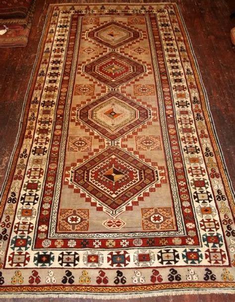 uzbek shirvan runner current sales barnebyscom antique caucasian shirvan long rug or runner very pale