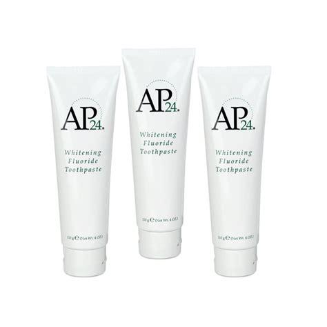 Pelangsing Nu Skin nu skin ap24 whitening toothpaste paket reseller 3 pcs