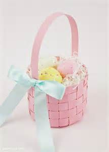 paper basket weaving template free woven paper easter basket template tutorial