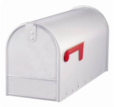 gibraltar industries white elite curbside mailbox the