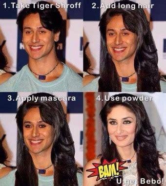 Kareena Kapoor Memes - now trending tiger shroff jokes indiatimes com