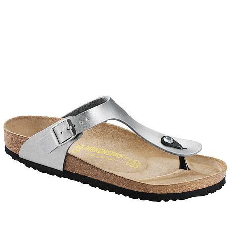 birkenstock comfort birkenstock quot gizeh quot thong comfort sandal hsn