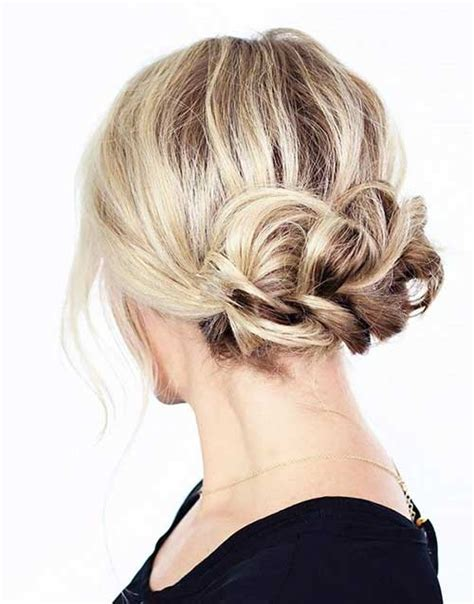 updo hairstyles for hair easy 23 new updo hair hairstyles haircuts 2016 2017