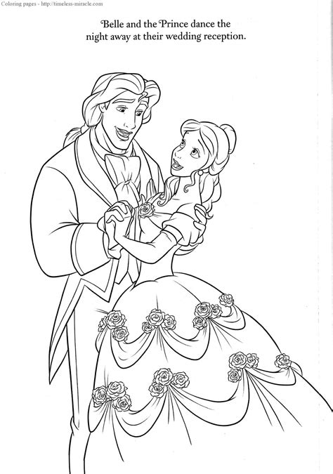 printable disney wedding coloring pages disney wedding coloring pages timeless miracle com