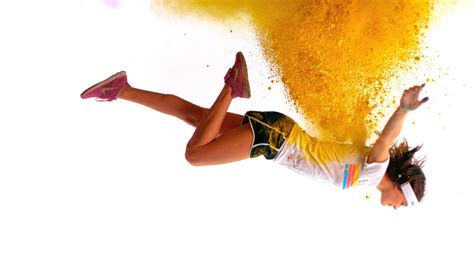 does color run paint wash out the color run color bursts in motion