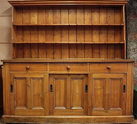 Kitchen Dressers For Sale by Australian Pine Kitchen Dresser Special Antique Sale