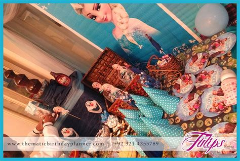 themed birthday party lahore frozen birthday party