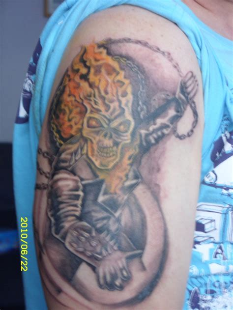 ghost rider tattoo my ghost rider