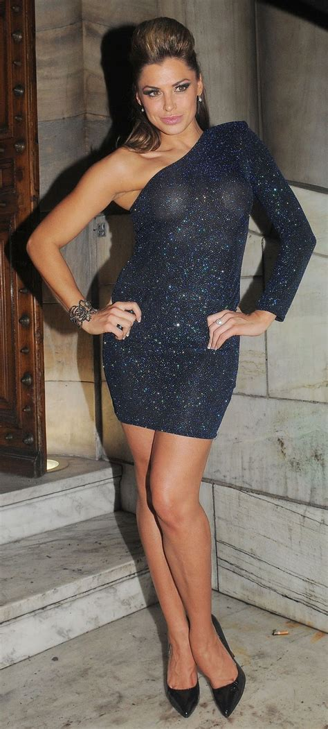hot bio celebrity pictures louise glover at london club