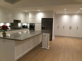 White Gloss Floor L by Finally Own Kitchen That I White High Gloss