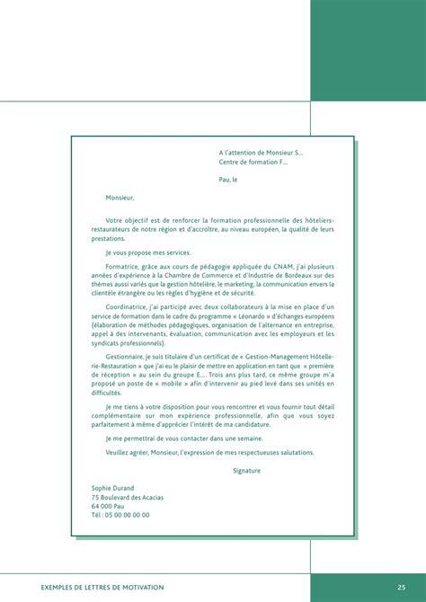 Exemple De Lettre De Motivation J Ai L Honneur Exemples De Lettres De Motivation