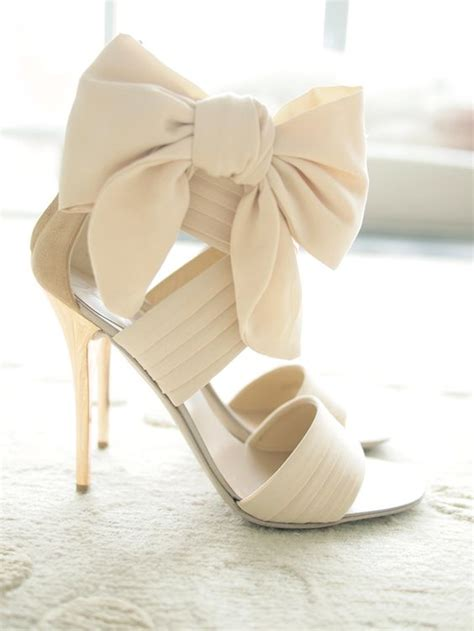 high heels with bows on the side 30 timeless bow wedding shoes ideas weddingomania