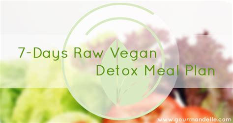 Vegan Detox Diet Plan by Fitness Programs