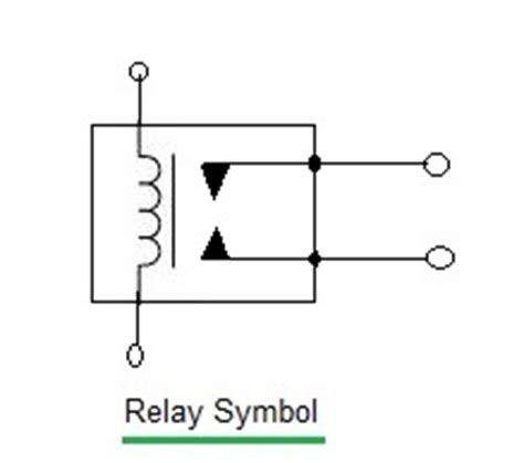 symbol for relay coil relay baaics relay manufacturers