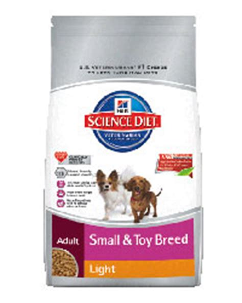 reviews cooking light diet hill s science diet small and toy breed light dog