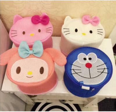Cop Renteng Hello Melody Doraemon 1 5 pcs lot hello my melody doraemon bra anti wrap laundry bag