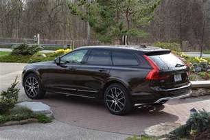 Volvo V90 Cross Country 2017 Volvo V90 Cross Country Awd Review Gtspirit
