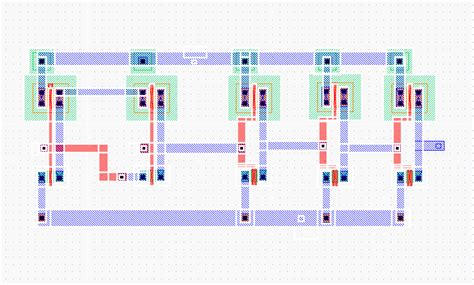 xor vlsi layout adder and subtrator with comparator