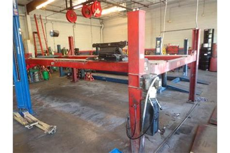 Alignment Rack For Sale by Rotary 12000 4 Post Drive On Alignment Rack Mdl Aro 123 20