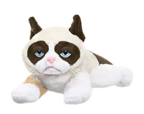 grumpy cat stuffed animal 8 quot laying